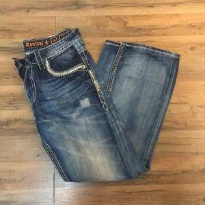 Men's Rock Revival Triton Boot Jeans